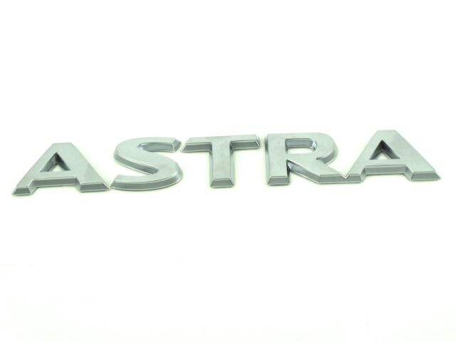 Genuine New VAUXHALL ASTRA BADGE Opel H 2004-09 Design Breeze Life Elegance SXi