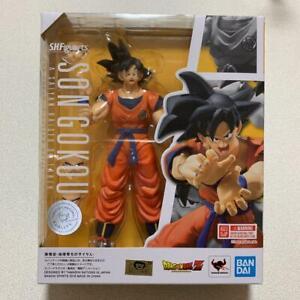 Bandai-SH-Figuarts-Son-Gokou-Saiyan-Raised-on-Earth-Dragon-Ball-Z-free-shipping