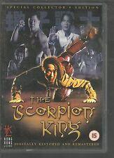 THE SCORPION KING - David Lai - UK REGION 2 DVD - rare