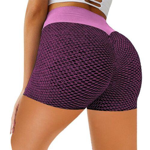 Damen-Yoga-Shorts lässig eng anliegend schmal zulaufend Fitness Sport