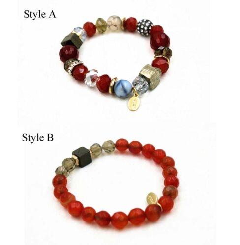 Nouveau Chicos Perles Élastique Bracelet Cadeau Femme Fashion Party jewely 2 Styles choisi