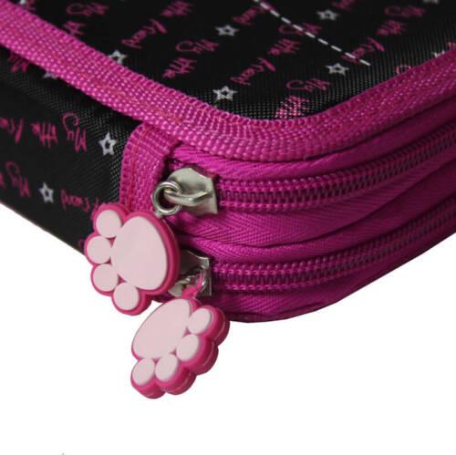 2-FACH 26-teilig Mäppchen Federmappe Federtasche Federmäppchen Hund shih tzu