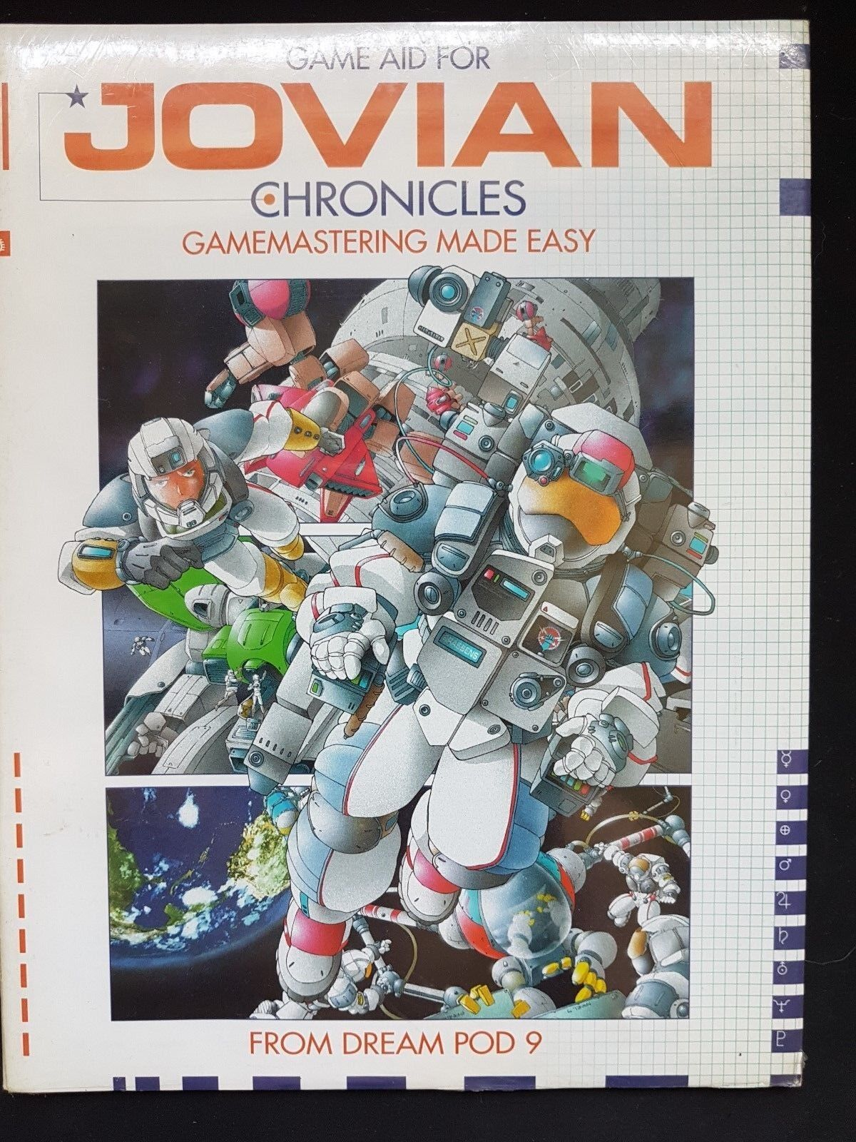 GAME AID FOR JOVIAN CHRONICLES GAME MASTERING MADE EASY  - DREAM POD 9 - NEW