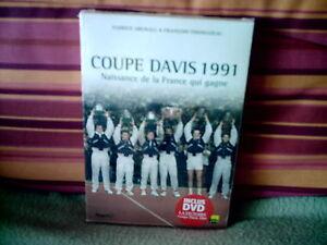 LIVRE-COUPE-DAVIS-1991-LA-FRANCE-QUI-GAGNE-DVD-LA-VICTOIRE