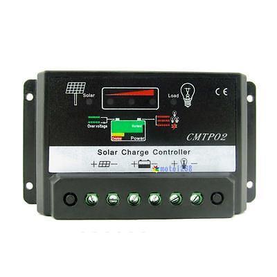 20A MPPT Solar Panel Battery Regulator Charge Controller 12V 24V Auto Switch