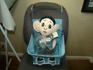 Teal-vintage-style-car-seat-auto-child-seat-antique-style-baby-seat-gm-accessory