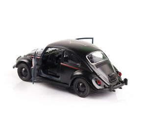 1-32-Scale-Diecast-Black-Beetle-classic-Car-Vehicle-Model-Children-Gift