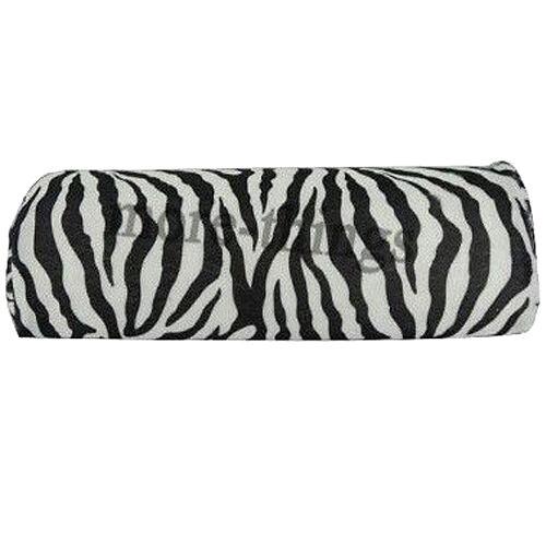 Soft Zebra Stripe Hand Rest Cushion Pillow Nail Art Design Manicure Half Column