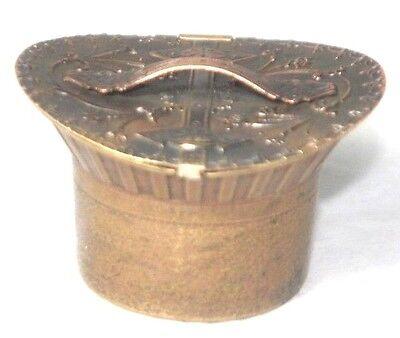 HAT BOX NEEDLE CASE~~Original ANTIQUE c1879  W. Avery & Son Redditch