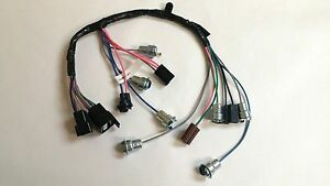 1964 1966 chevy pick up truck instrument cluster wiring harness image is loading 1964 1966 chevy pick up truck instrument cluster