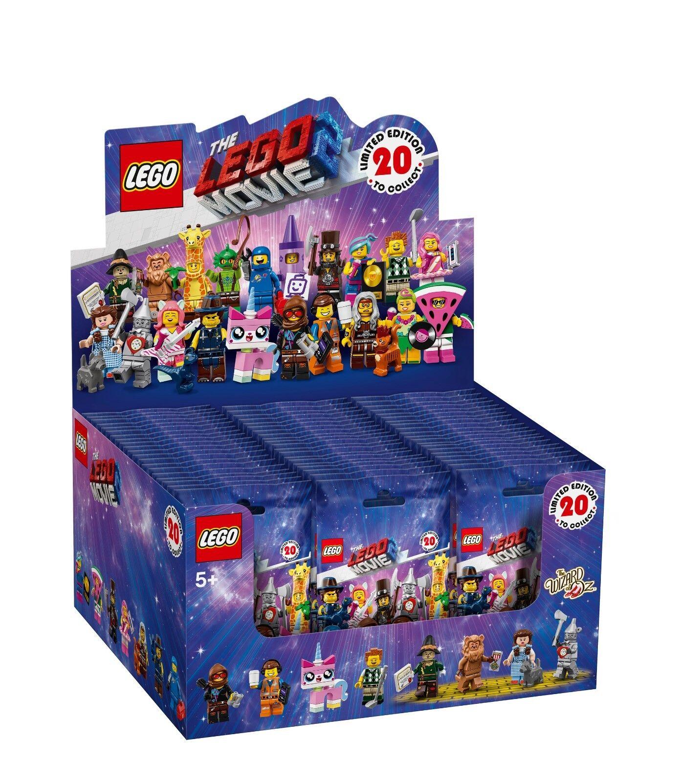 LEGO ® Minifigures 71023 The Lego Movie ™ 2 comptoirs Display (á 60 pochettes)