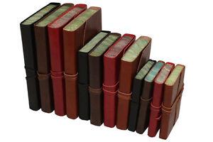 Papuro Roma Marbré Edge Leather Blank Journal - 3 Tailles Et 4 Couleurs-afficher Le Titre D'origine Pzfjz6j1-10110515-621747592