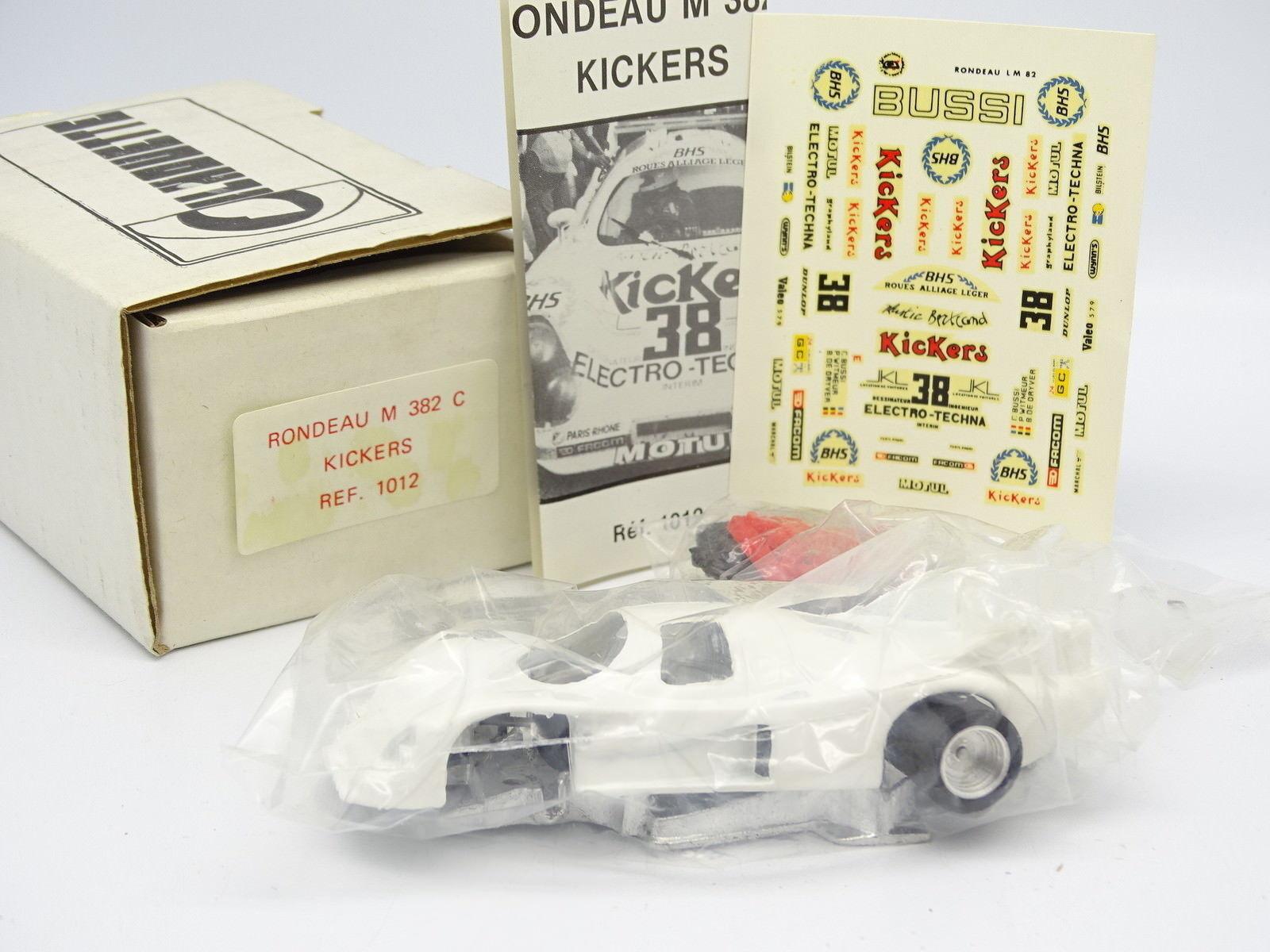 Silhouette Kit para Montar 1 43 - Rondeau M382 C Kickers Le Mans 1982