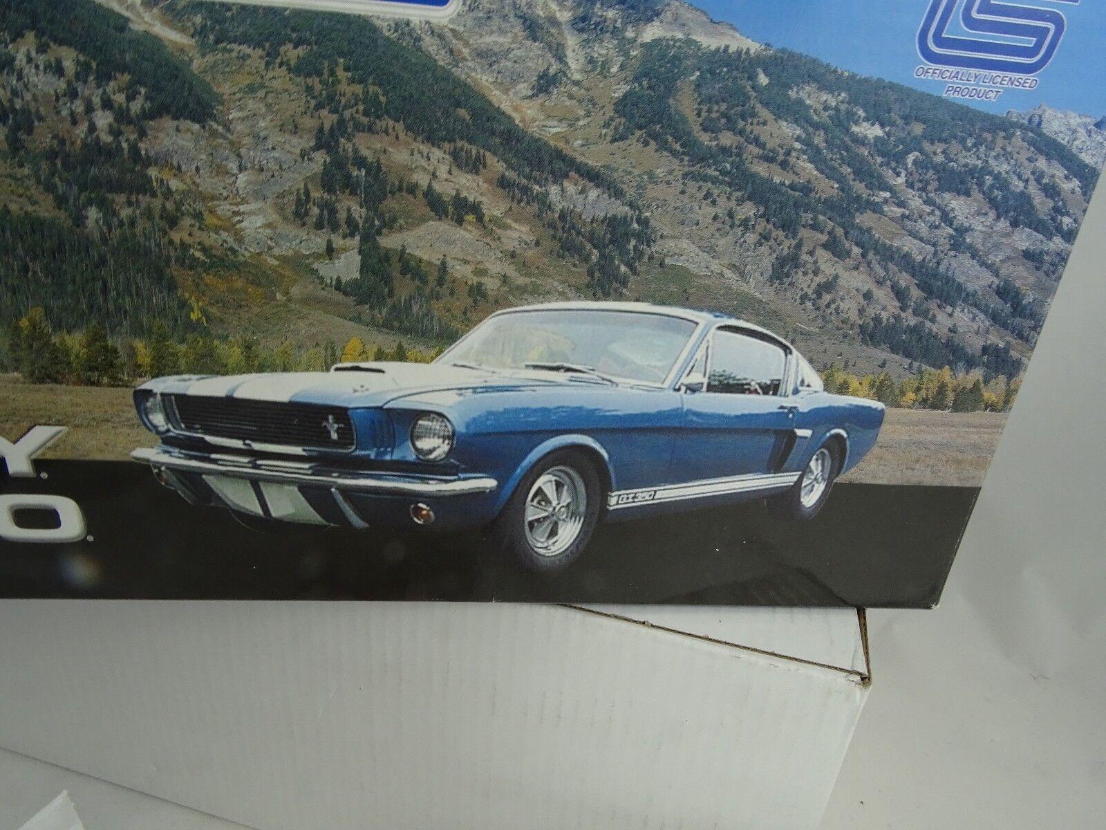 1:18 Esatto Dettaglio Lane  116 - 1966 Shelby G.T.350 Blu/Bianco Lmtd.ed-rarität