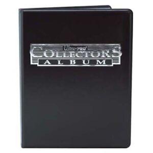ULTRA-PRO-9-POCKET-COLLECTORS-ALBUM-BLUE-BLACK-HOLDS-180-CARDS-BINDER-PORTFOLIO