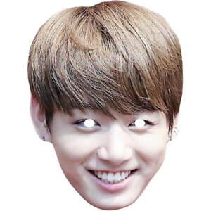 Details about Jungkook BTS Bangtan Boys Band Singer Card Celebrity Mask -  Masks Are Pre-Cut