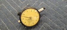 Vintage Federal Dial Indicator Model C21 0001 Full Jeweled Lug Back Usa