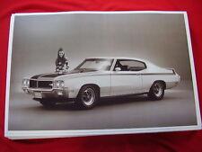 1970  BUICK SKYLARK  GSX  HARDTOP   11 X 17  PHOTO   PICTURE