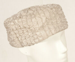 """""""années 50 French vintage hat 54 taille S"""