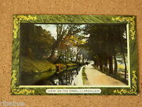 Vintage Postcard: View on the Canal, Llangollen, Wales