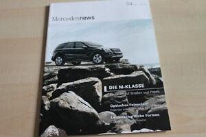 Mercedes M-klasse 124789 News 04/2008 Heller Glanz