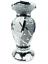 miniature 10 - Flower Vase Flower Pot Crushed Diamond Mirror Effect Home Decor Ceramic Vase New