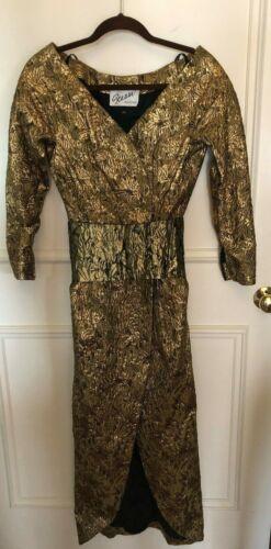 Elegant Vintage Scaasi Boutique Evening Dress