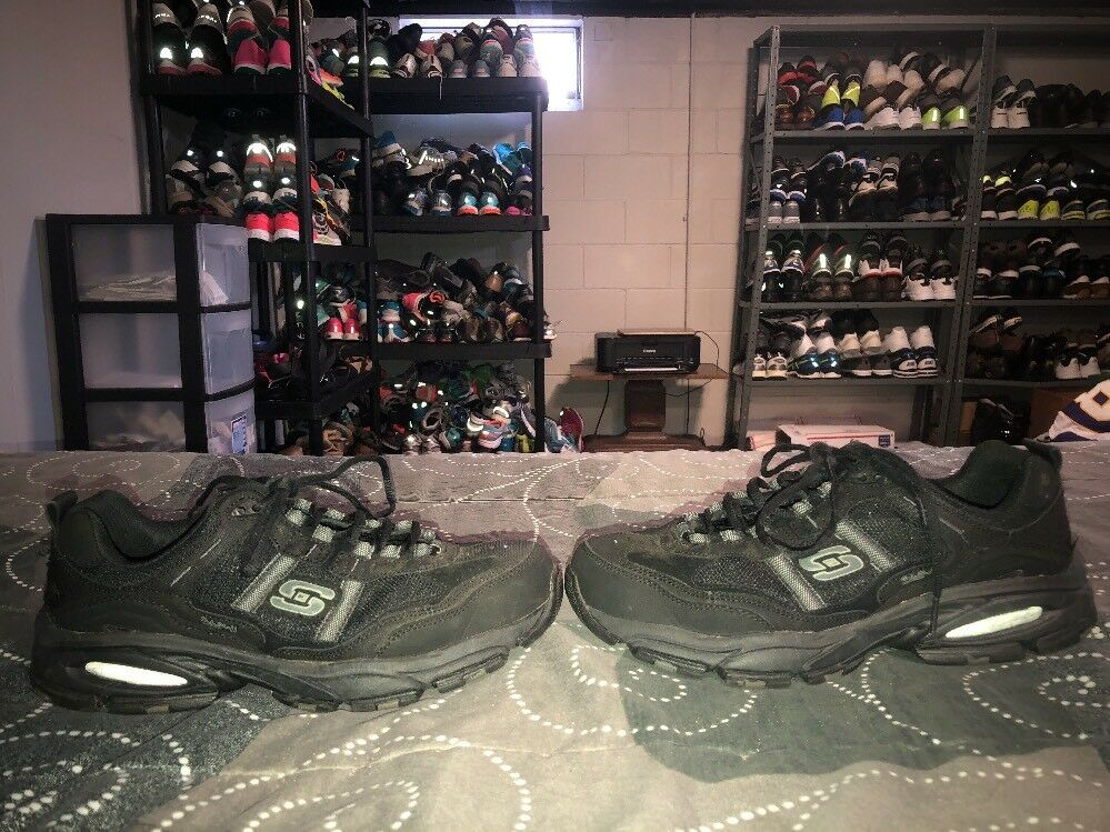 Skechers Vigor 2.0 Trait Memory Foam Mens Athletic Walking Shoes Comfortable Comfortable and good-looking