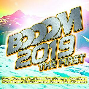 BOOOM-2019-THE-FIRST-CALVIN-HARRIS-DAVID-GUETTA-SAM-SMITH-DYNORO-2-CD-NEU