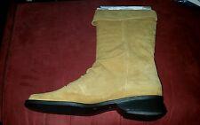"Markon-Suede Leather Mid-Calf Boots! ""SIMON"" NEW IN BOX"