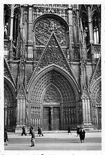 Eingang Kathedrale Rouen Frankreich