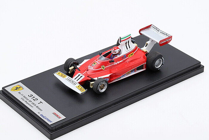 1 43 LookSmart Ferrari 312T 1975 Italian GP Winner C. Regazzoni LSRC60