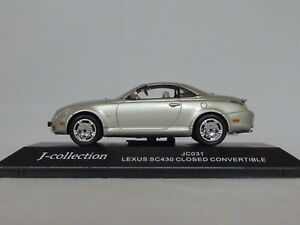 Lexus-SC430-Convertible-Top-Up-034-Silver-034-J-Collection-1-43-JC031