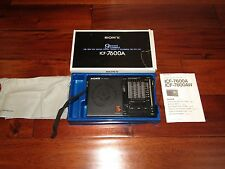 RARE SONY ICF-7600A FM/MW 9 BAND SHORTWAVE RADIO RECIEVER