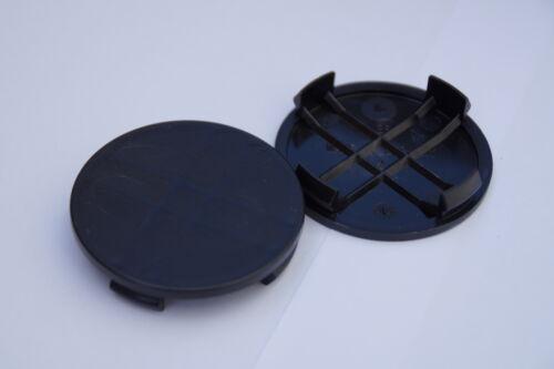 N6 N23  schwarz Nabenkappen  Felgendeckel 60 mm Rial Alutec ATS 4 St.