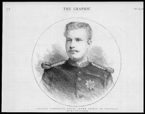 1883-Antique-PORTRAIT-Print-Charles-Ferdinand-Louis-Crown-Prince-Portugal-103