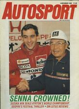 Autosport Nov 3rd 1988 *Japanese GP & FF Festival*