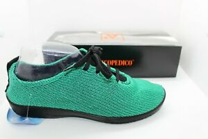 Arcopedico LS knitted shoe lace up denim blue LADIES SHOES//FOOTWEAR