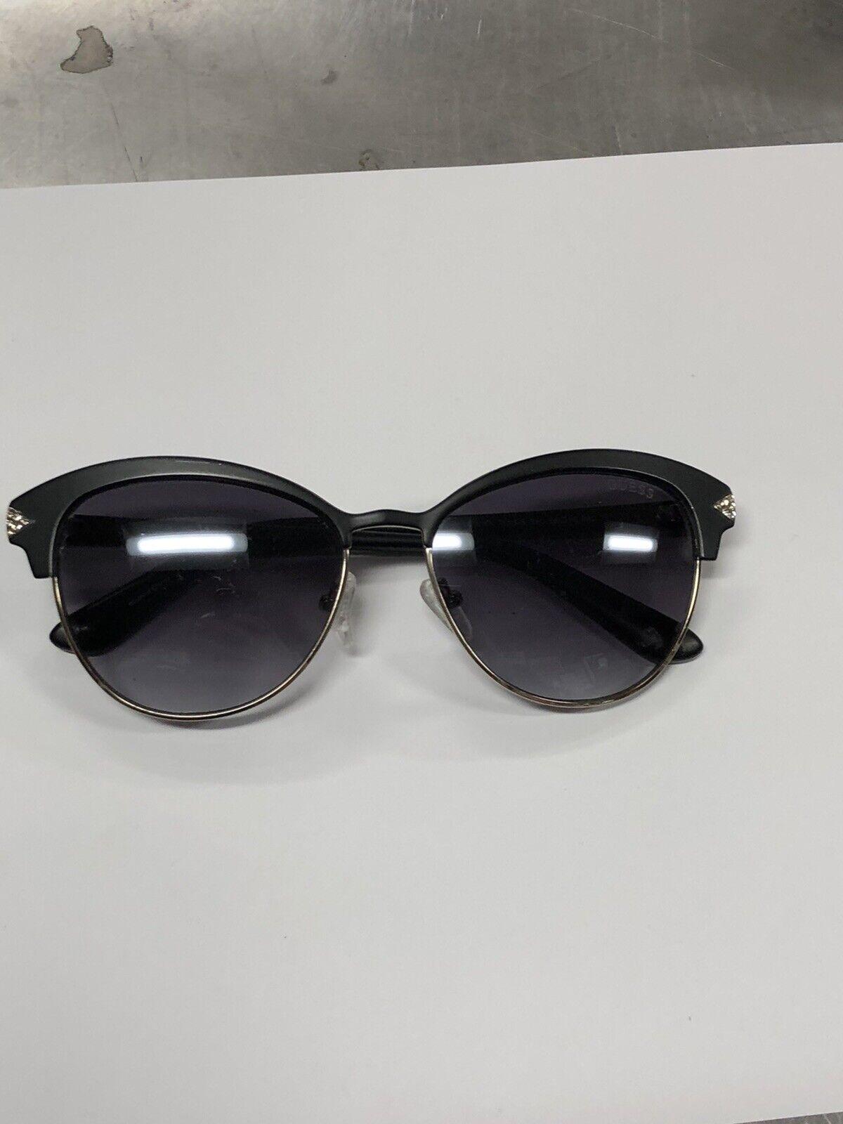GUESS GU 7515-S 05C Cat Eye Lens Style Black