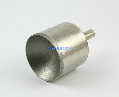 2 Pcs Diamond Coated 14mm Spherical Head Mounted Point Grinding Bit