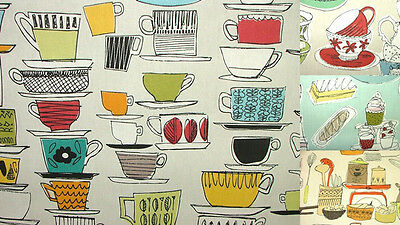 """Prestigious """"The House Collection"""" Designer Cotton Curtain Upholstery Fabric"""