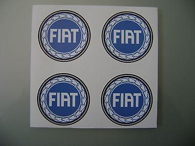 4x 40 mm fits ABARTH fiat 500 alloy wheel STICKERS center badge trim cap hub