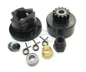 Hot-Bodies-D819rs-CLUTCH-flywheel-bell-springs-shoes-D817-204580-Buggy