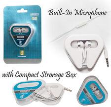 2 x IN-EAR AURICOLARI VIVAVOCE CUFFIE PER APPLE IPHONE IPAD CELLULARE