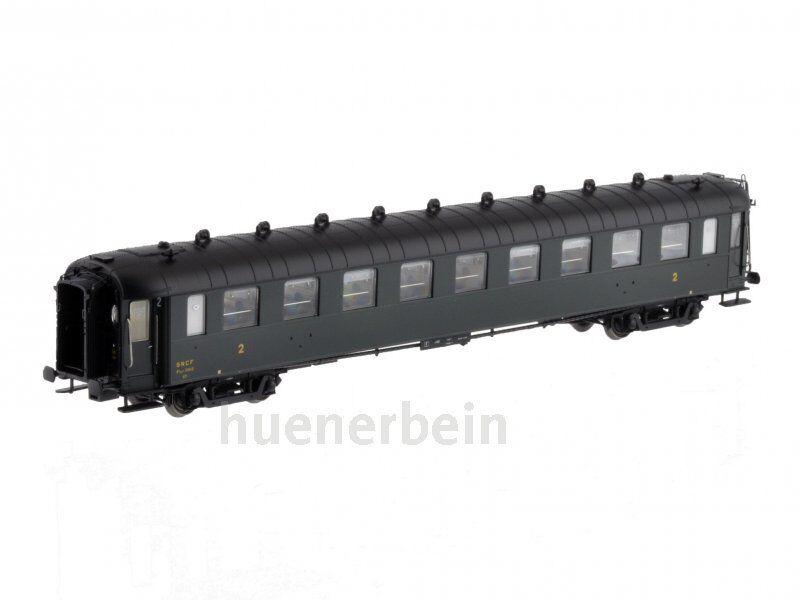 LSmodellolosworld 40202 SNCF 2.kl. personenwg ocem B 9 myfi verdeNERO ep3b NUOVO  OVP