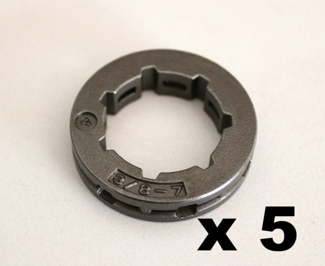 5 x CHAINSAW CHAIN SPROCKET RIM 3/8 FOR STIHL 7 TOOTH