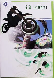 13-today-Birthday-card-suitable-for-male-or-female-motorbike-theme-brand-new