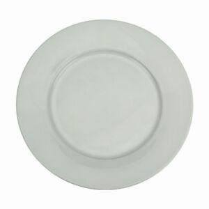 Lot-de-6-Assiettes-Plates-En-Porcelaine-Ronde-Blanche-24cm