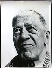 Ulrich Mack, Vintage Fotografie 1961, signiert, Oskar Kokoschka