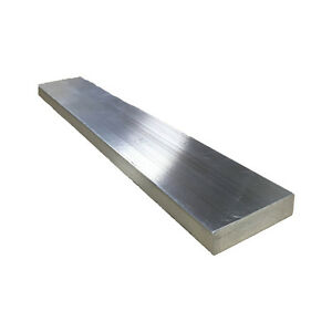 "1/2"" x 3"" Aluminum Flat Bar, 6061 Plate, 48"" Length, T6511 Mill Stock, 0.5"""